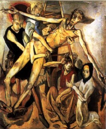 Max Beckman: The Descent from the Cross (1917)
